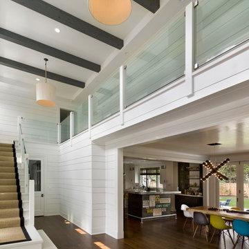 Modern Farmhouse Foyer
