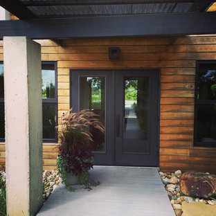 Modern Front Home Entrance