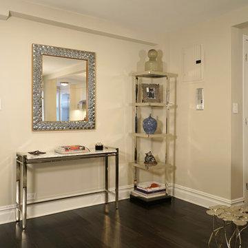 Modern Glam Apartment Interior Furnishings