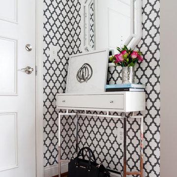 Modern Glam Entry & Foyer