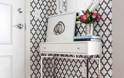 Weekend DIY: Chic Black and White Projects Anyone Can Do