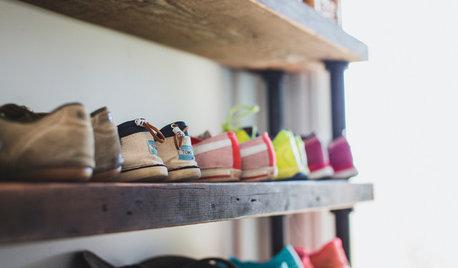 Раз и навсегда: Как организовать хранение обуви — идеи и варианты