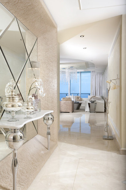 Contemporary Entry by DKOR Interiors Inc.- Interior Designers Miami, FL
