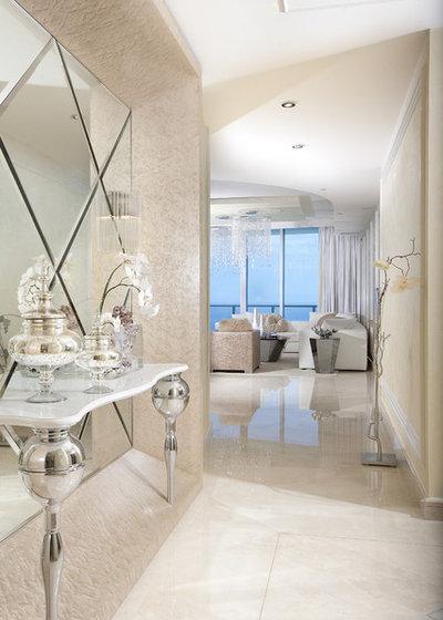 Contemporary Entry by DKOR Interiors Inc.- Interior Designers Miami, FL