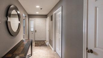 Modern Kitchen, bath and flooring remodel-Arlington Heights, IL.