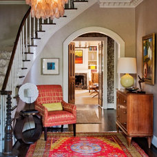 Traditional Entry by Teri Thomas Interiors