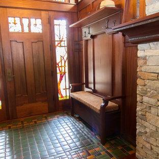 Entryway - craftsman entryway idea in Charlotte