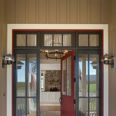Farmhouse Entry by Tom Meaney Architect, AIA