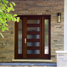 Contemporary Entry by David Small Designs