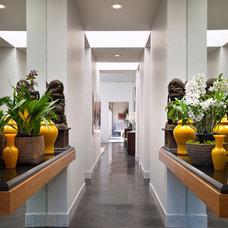 Modern Entry by Maienza-Wilson Interior Design + Architecture