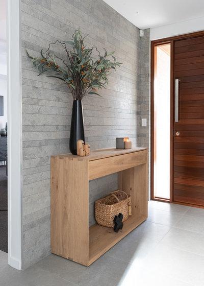 Scandinavian Entry by Hatch Interiors