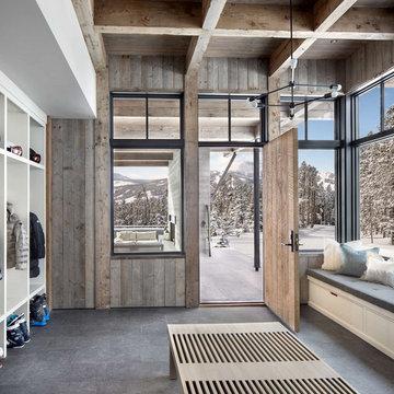 Modern Ski Home