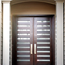 Modern Front Doors by The Scobis Company