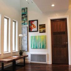 Modern Entry by Karen Radtke Interior Design