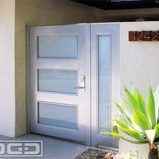 Modern Entry by Dynamic Garage Door