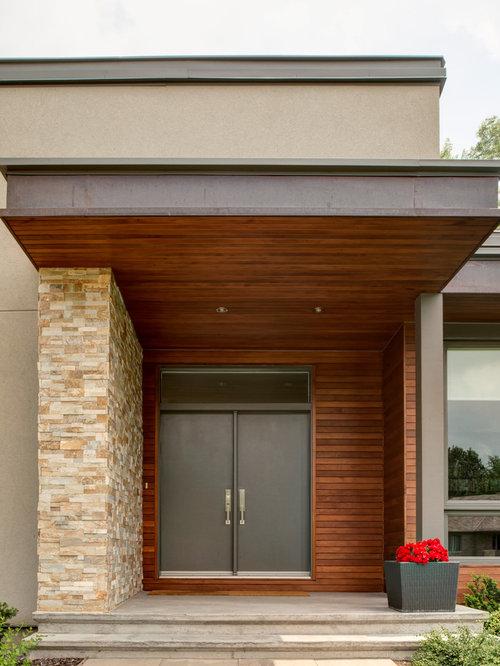 Contemporary ottawa entryway design ideas remodels photos for Modern home decor ottawa