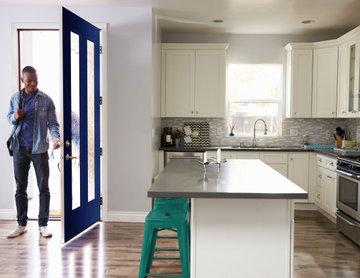 Modern Townhome Entry Ideas | Modern Door | Entry Way Inspiration