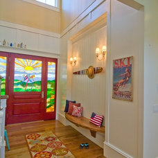 Traditional Entry by Hyrum McKay Bates Design, Inc.