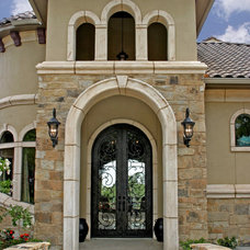 Mediterranean Entry by Diamante Custom Homes