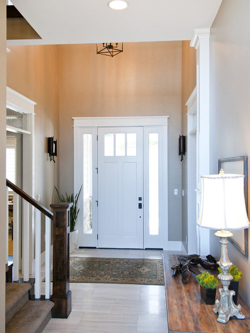 craftsman salt lake city entryway design ideas remodels