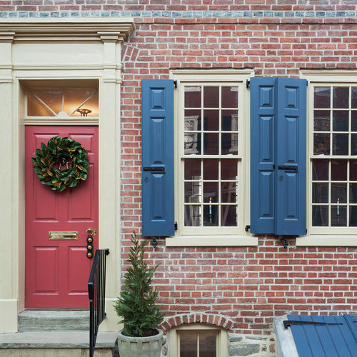 Blue Shutters Houzz
