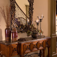 Traditional Entry by Terri Ervin Decorating Den Interiors