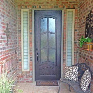Monte Cristo Iron Doors
