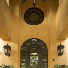 Mediterranean Entry by Conrado - Home Builders
