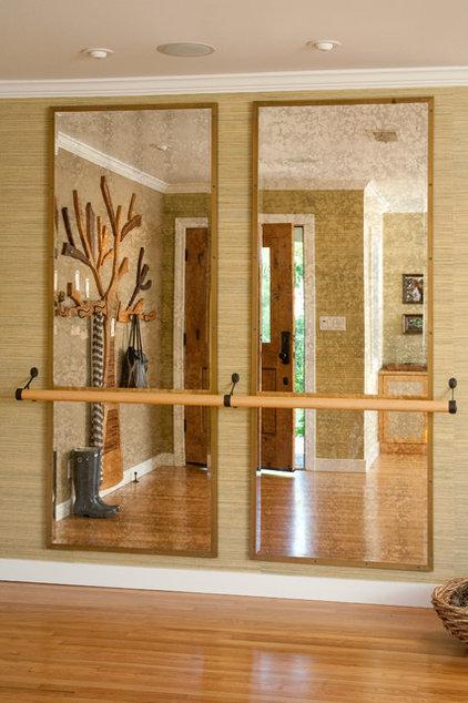 Eclectic Entry by Jessica Risko Smith Interior Design
