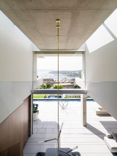 Contemporary Entry by TKD Architects