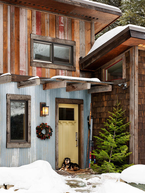 Rustic wood siding ideas pictures remodel and decor for Rustic siding ideas