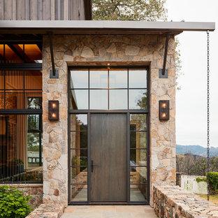 Landhausstil Eingang in San Francisco