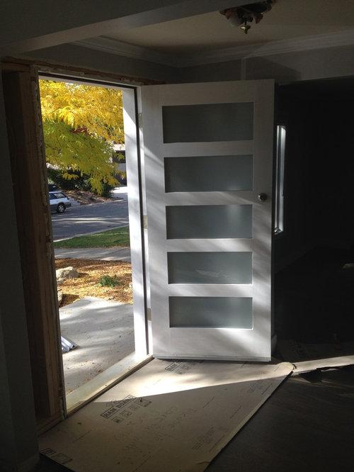 Save & Mountain View Custom Front Door and Orepac Doors