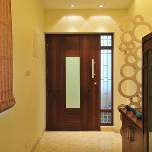 Entryway - contemporary entryway idea in Mumbai