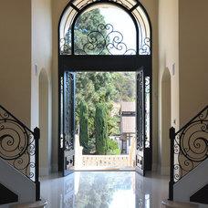 Mediterranean Entry by Kassabian Design Build
