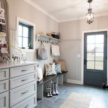 Mud Room Laundry Room Walk in Pantry
