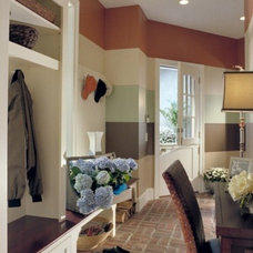 Eclectic Entry by Roeder Design Group, Inc.