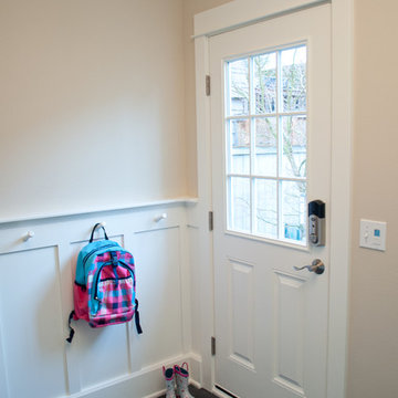 Mudroom: Classic and Colorful