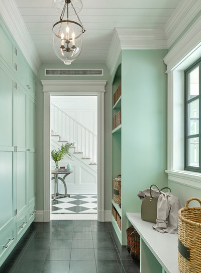 Traditional Entry by Denise Maloney Interior Design
