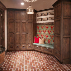 traditional hall by Craig Veenker, Designer, Mountain Cabinetry Inc.
