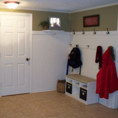 traditional entry Mudroom/Entry