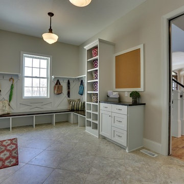Mudroom – Kintyre Model – 2015 Spring Parade of Homes