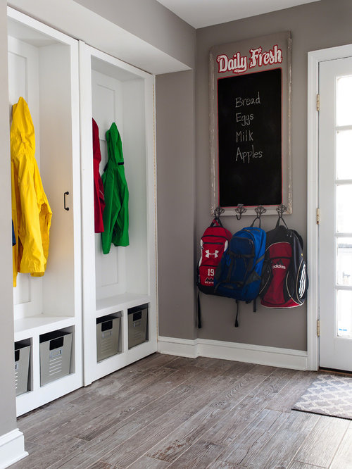 Mudroom laundry room office closet a place for everything for Laundry room office