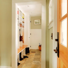 Contemporary Entry by Peregrine Design Build
