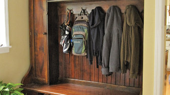 Mudroom Rack - Barnwood Furniture