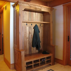 Craftsman Entry by Vermont Custom Cabinetry