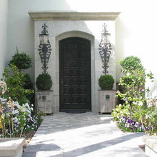 Mediterranean Entry by Andrea Michaelson Design