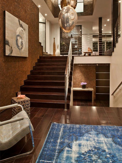 Rug On Dark Floor Houzz