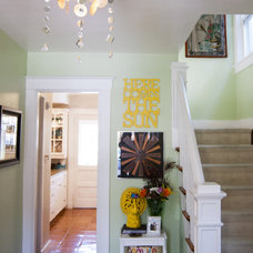 Eclectic Entry by Adrienne DeRosa