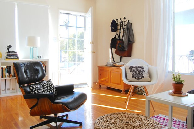 Eclectic Entrance by Corynne Pless